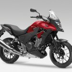 2013 Honda CB500X Candy Ruby Red