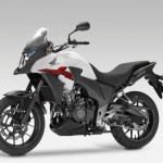 2013 Honda CB500X Pearl Himalayas White