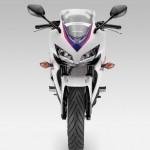 2013 Honda CBR500R Pearl Himalayas White Front