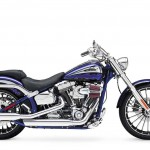2014 Harley-Davidson CVO Breakout Black and Blue