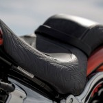 2014 Harley-Davidson CVO Breakout Bomber Back Leather Seat