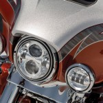 2014 Harley-Davidson CVO Limited Headlight