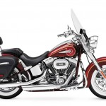 2014 Harley-Davidson CVO Softail Deluxe Crimson Red Sunglo with Ruby