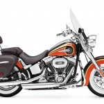 2014 Harley-Davidson CVO Softail Deluxe Maple Metallic and Atomic Orange
