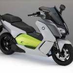 2014 BMW C evolution Electric Scooter Front Right