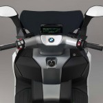 2014 BMW C evolution Electric Scooter Handlebar