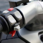 2014 BMW C evolution Electric Scooter Handlebar Buttons