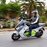 2014 BMW C evolution Electric Scooter In Action