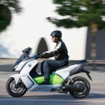2014 BMW C evolution Electric Scooter In Action_1