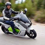 2014 BMW C evolution Electric Scooter In Action_4