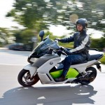 2014 BMW C evolution Electric Scooter In Action_6