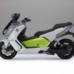 2014 BMW C evolution Electric Scooter Left Side
