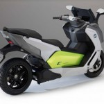 2014 BMW C evolution Electric Scooter Rear