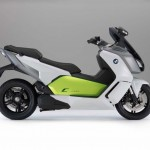 2014 BMW C evolution Electric Scooter Right Side