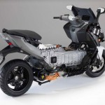 2014 BMW C evolution Electric Scooter Uncover_5