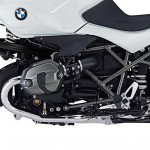 2014 BMW R1200R DarkWhite SE Jet Black Engine Cover