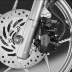 2014 HONDA SH Mode 125 Brake