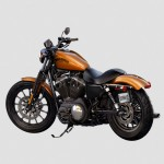 2014 Harley-Davidson Iron 883 Orange
