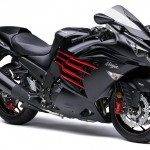 2014 Kawasaki Ninja ZX-14R ABS Flat Ebony and Ebony