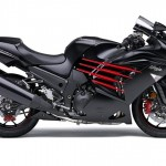 2014 Kawasaki Ninja ZX-14R Flat Ebony and Ebony_2
