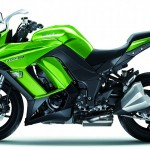 2014 Kawasaki Z1000SX Green