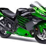 2014 Kawasaki ZX-14R Ninja Golden Blazed Green