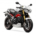 2014 Triumph Speed Triple R Matt Crystal White_1