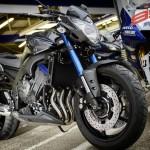2014 Yamaha FZ8 Race Blu