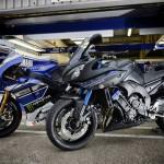 2014 Yamaha Fazer8 Race blu