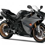 2014 Yamaha YZF-R1 Matte Grey with Gold Wheels