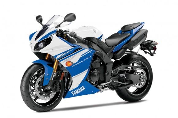 2014 Yamaha YZF-R1 Team Yamaha Blue and White
