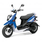 2014 Zuma 50FX Scooter Blue White_2