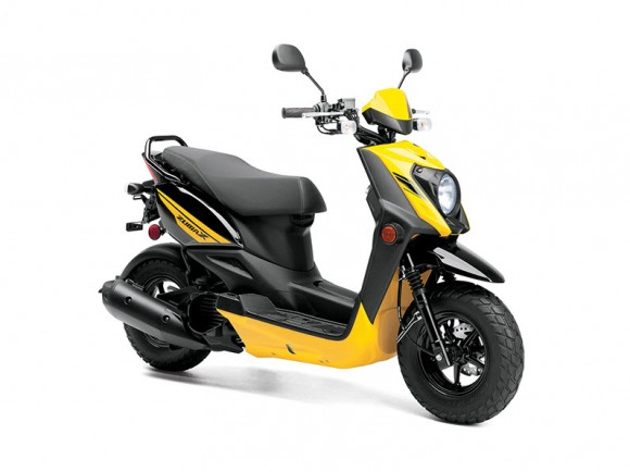 2014 Zuma 50FX Scooter Vivid Yellow