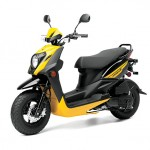 2014 Zuma 50FX Scooter Vivid Yellow_2