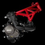 2014 Ducati Monster 1200 Engine Frame