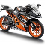 2014 KTM RC125 Front Right Side