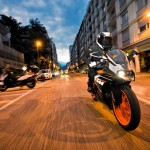 2014 KTM RC125 In Action