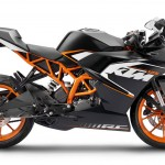 2014 KTM RC125 Right Side