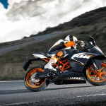 2014 KTM RC200 In Action