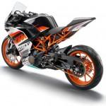 2014 KTM RC390 Rear