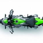 2014 Kawasaki Z1000 Top