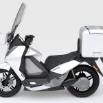2014 Vectrix VT-1 Electric Scooter Modular Storage