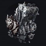 2014 Yamaha MT-07 Engine