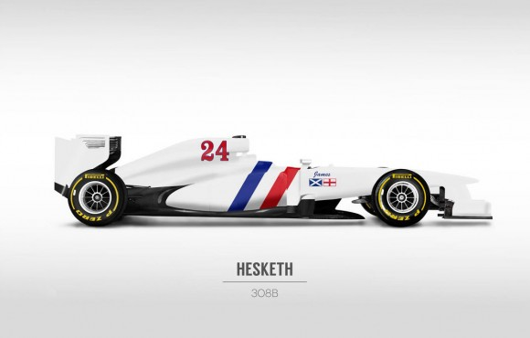 2014 Hesketh 24 F1