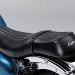 2014 Kawasaki Estrella 250 Candy Caribbean Blue Seat
