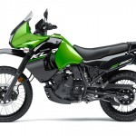 2014 Kawasaki KLR650 New Edition Candy Lime Green