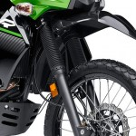 2014 Kawasaki KLR650 New Edition Candy Lime Green_2