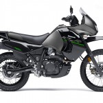 2014 Kawasaki KLR650 New Edition Metallic Flat Raw