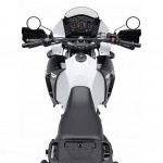 2014 Kawasaki KLR650 New Edition Pearl Stardust White