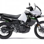 2014 Kawasaki KLR650 New Edition Pearl Stardust White_1